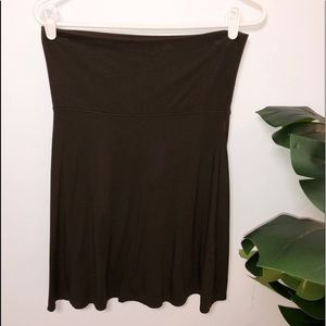 Chocolate Brown Old Navy Fold Over Skirt